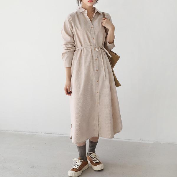 66girls-포멀스트셔츠롱OPS♡韓國女裝連身裙