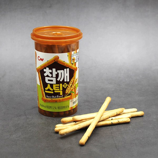 韓國 CW 芝麻餅乾棒 85g