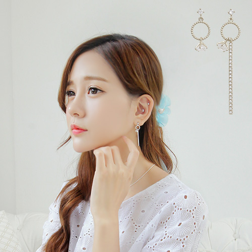soo-soo-[귀걸이이엘스 (16E699) [3color]]♡韓國女裝飾品