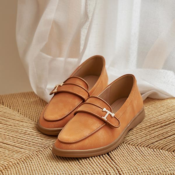 canmart-[가죽푹신T로퍼 C101414]♡韓國女裝鞋