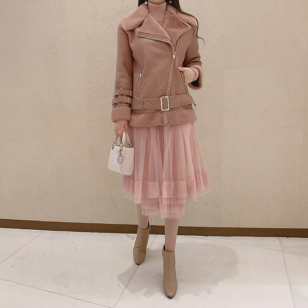 marlangrouge-로이무스탕 JK♡韓國女裝外套