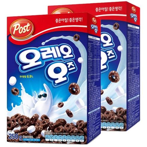 韓國 Post Oreo O's朱古力棉花糖穀物早餐 250g