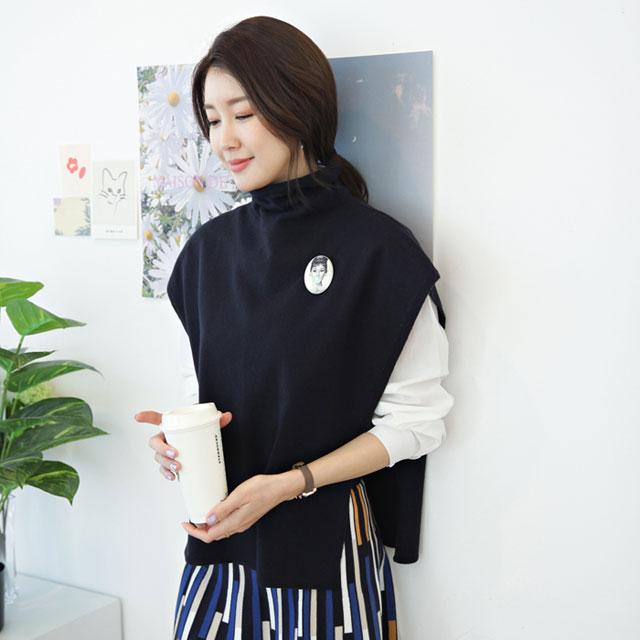 tiramisu-119앤비니트원피스조끼세트♡韓國女裝套裝