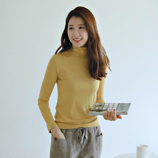 tiramisu-7011울텐셀목폴라티♡韓國女裝上衣