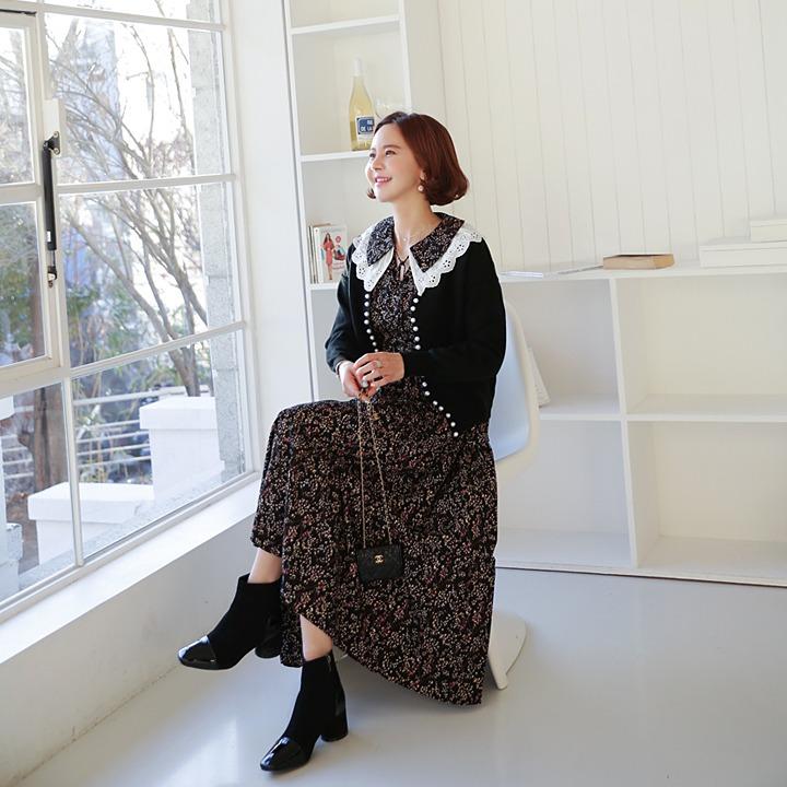 lemite-진주볼 오픈와리♡韓國女裝外套