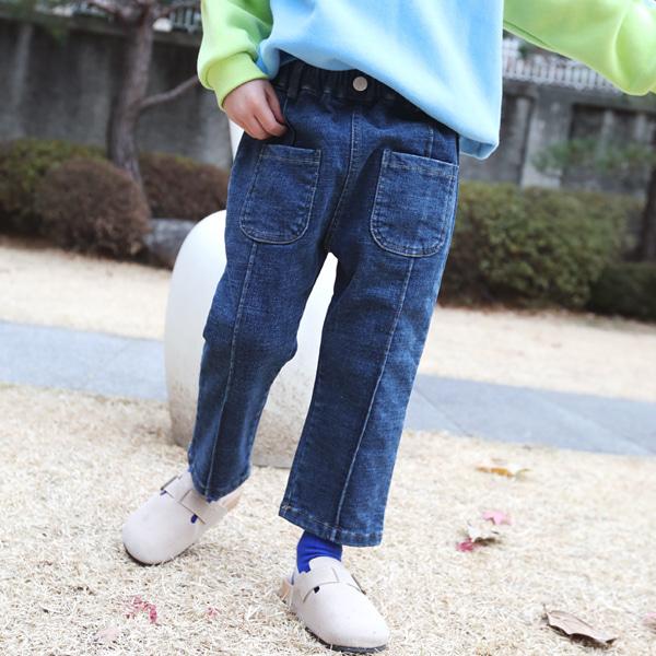 min99kids-그대로(기모)♡韓國童裝褲