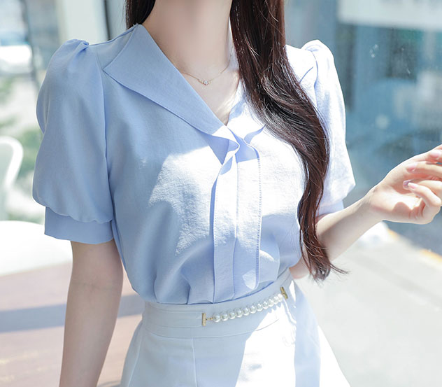 myfiona-살짝흔들린마음*blouse/a0529 - 로맨틱 러블리 피오나♡韓國女裝上衣