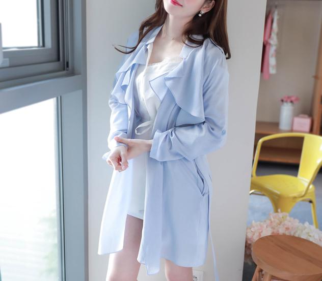 myfiona-스타일소프트*trench coat/m8161 - 러블리 로맨틱룩 1위 쇼핑몰 피오나♡韓國女裝外套