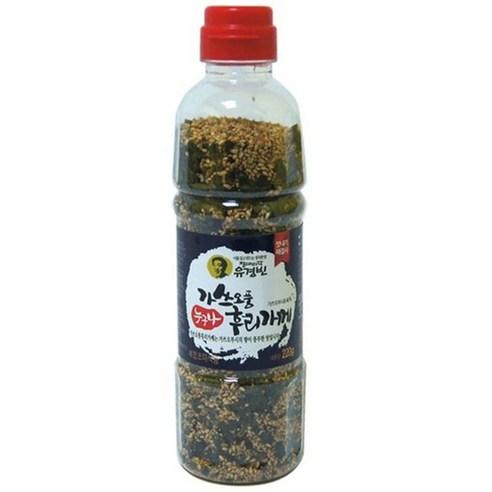 韓國南大門手工炒芝麻紫菜海苔飯素 220g