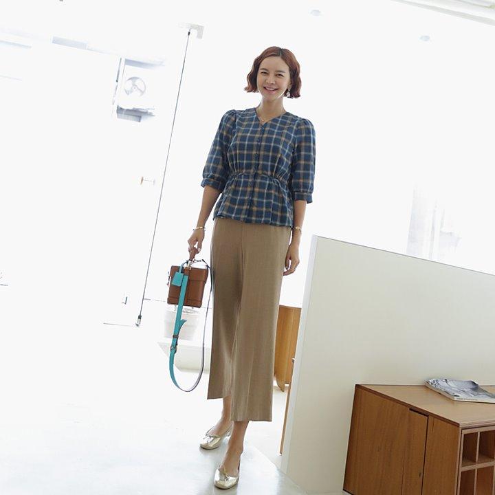 lemite-체키스 블라우스♡韓國女裝上衣