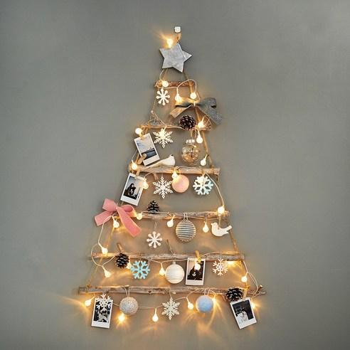 韓國  Bebedeco香氛味聖誕樹全套 + LED 30 透明燈泡/裝飾