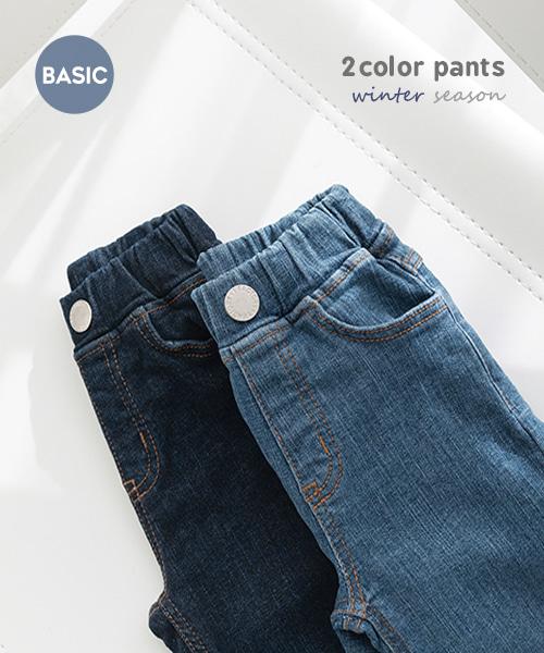 harukids-잭팟데님팬츠[팬츠BCDK79]♡韓國童裝褲
