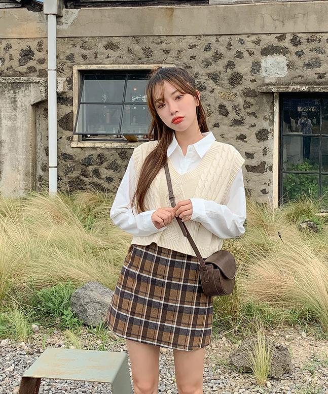 sonyunara-피셔세미크롭니트 (6colors!)♡韓國女裝外套