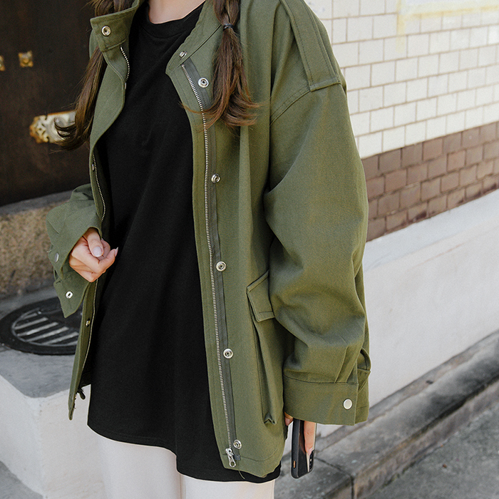 09women-[벨링 하프넥 숏 야상 자켓 50908]♡韓國女裝外套