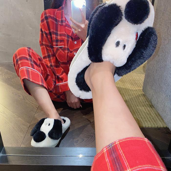 choper-하트강아지슬리퍼♡韓國女裝鞋