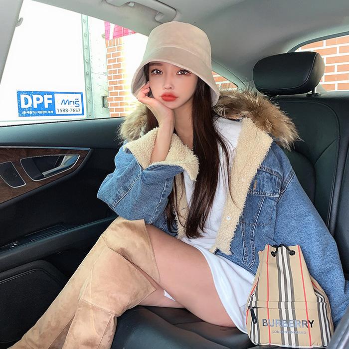choper-리얼라쿤양털청자켓♡韓國女裝外套