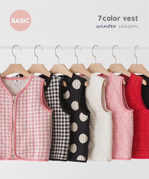 harukids-베스트모음조끼[조끼BCBM85]♡韓國童裝外套