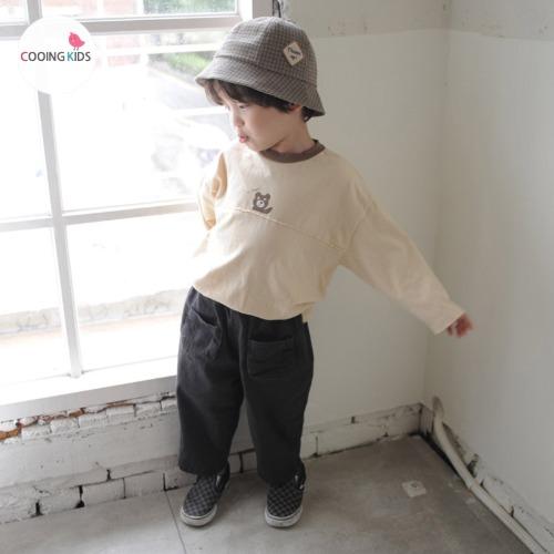 cooingkids-B하이곰티셔츠♡韓國童裝上衣