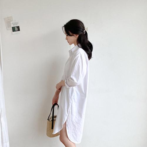 minibbong-레아 셔츠원피스♡韓國女裝連身裙