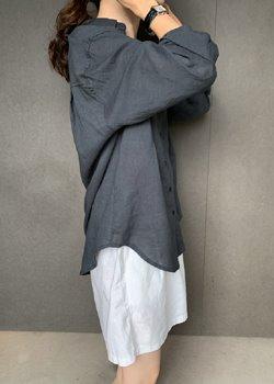 ifgirl-브리도 셔츠  (2color)♡韓國女裝上衣