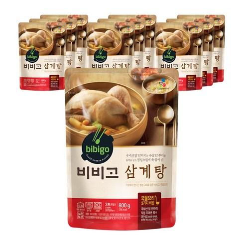 韓國 CJ Bibigo人蔘雞湯 800g