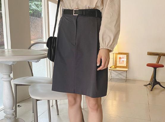 hellosweety-[리암 핀턱 코튼 스커트]♡韓國女裝裙