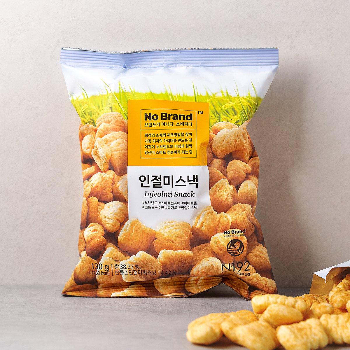 韓國 No Brand 年榚脆米餅 130g
