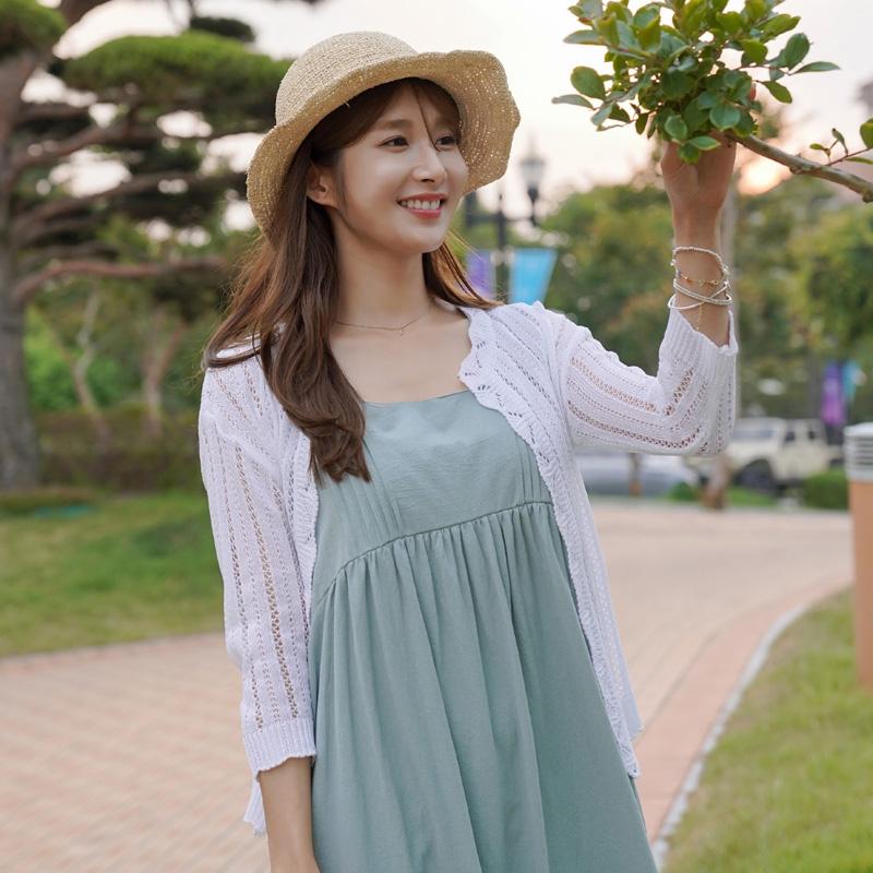 clicknfunny-[앗티르 레이스가디건]♡韓國女裝外套