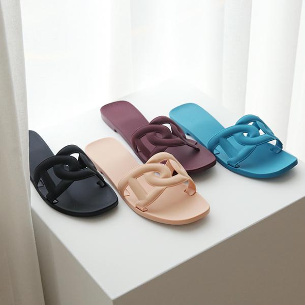 canmart-[쫀득젤리슬리퍼 C062505]♡韓國女裝鞋