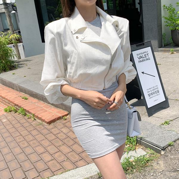 planj-제시린넨라이더자켓♡韓國女裝外套