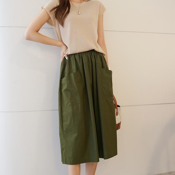 canmart-[유키포켓치마바지 C062525]♡韓國女裝褲