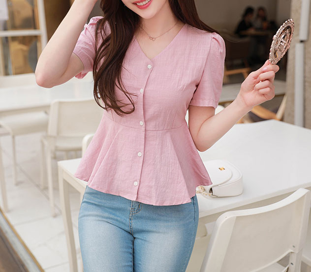 myfiona-순수한여자*blouse/a0293♡韓國女裝上衣