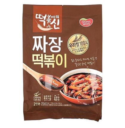 동원 Dongwon 炸醬口味湯年糕 一包/ 358g  (2人份量)