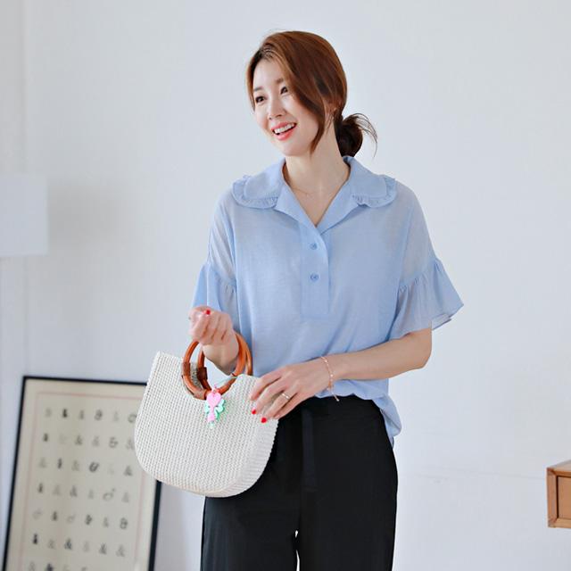 tiramisu-0722투데이프릴카라블라우스♡韓國女裝上衣