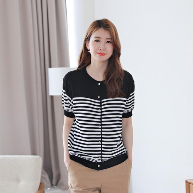 tiramisu-0711모니카반팔니트♡韓國女裝上衣
