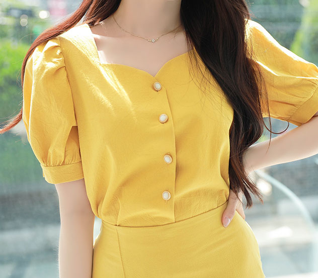 myfiona-데일리하트넥*blouse/a0474♡韓國女裝上衣