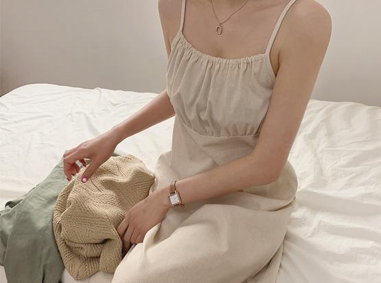 氣質吊帶連身裙