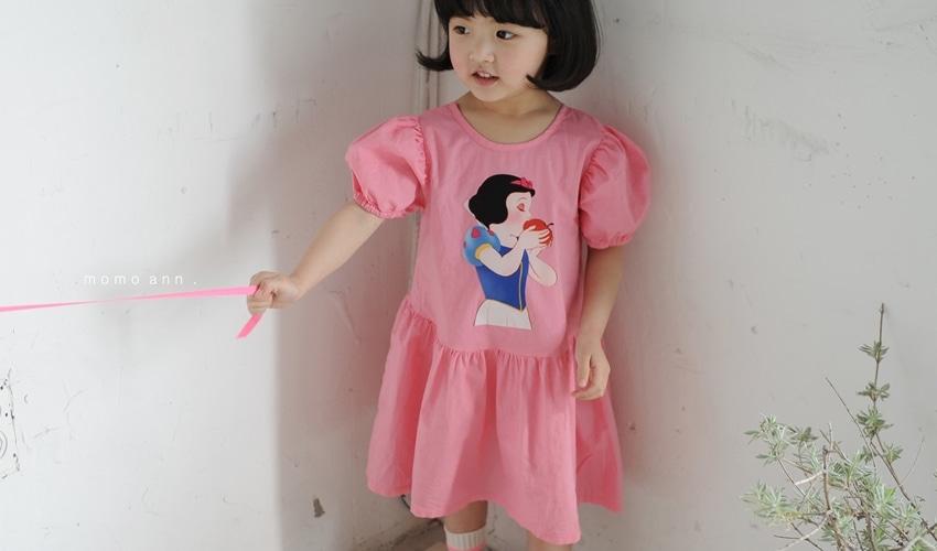 lovely2min-모모앤 백설공주 원피스 (아동복) - lovely2min♡韓國童裝連身裙