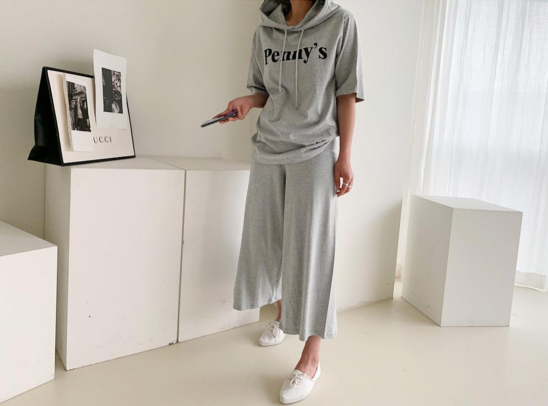 naning9-슈리프 나염후드밴딩팬츠세트(B05)♡韓國女裝褲
