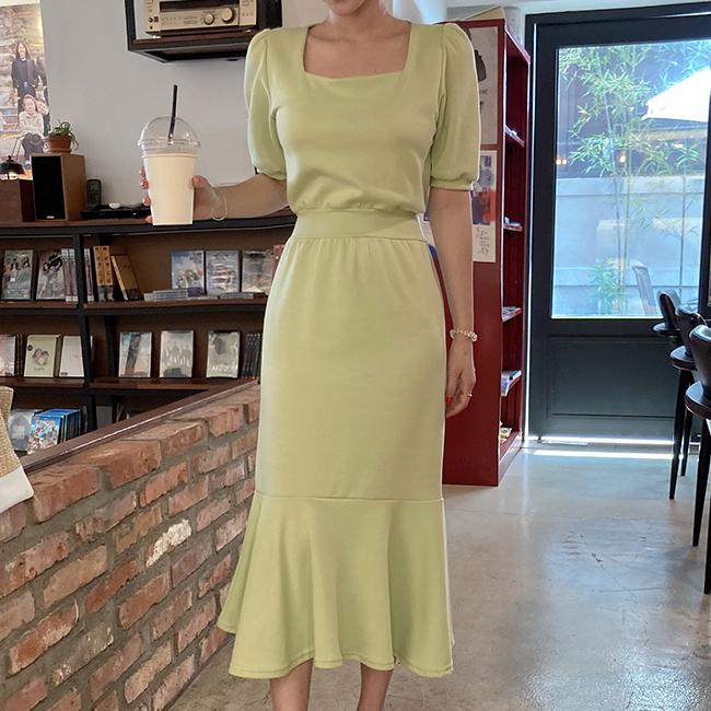 cherryville-[슈가퓨어 스퀘어원피스]♡韓國女裝連身裙