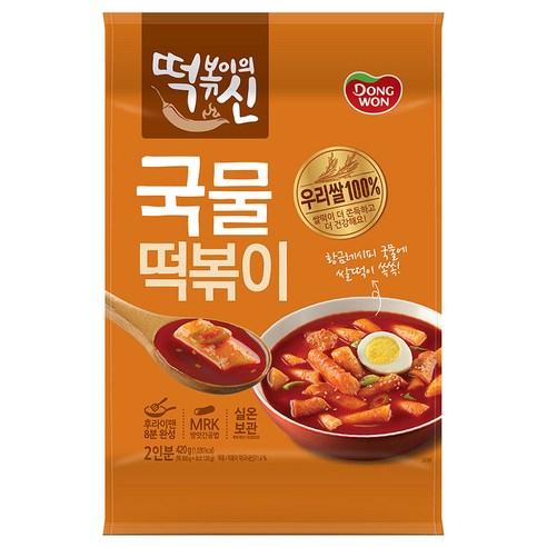 동원 Dongwon  辣味湯年糕 一包/420g (2人份量)
