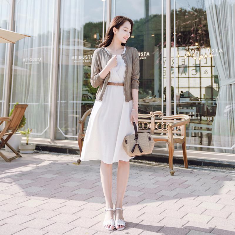 attrangs-cd879 썸머시즌 데일리하게 입기 좋은 레이스소재 볼레로 가디건 cardigan♡韓國女裝外套