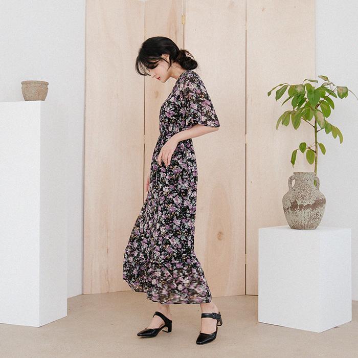 09women-[쥬드엘 브이넥 롱 원피스 49936]♡韓國女裝連身裙
