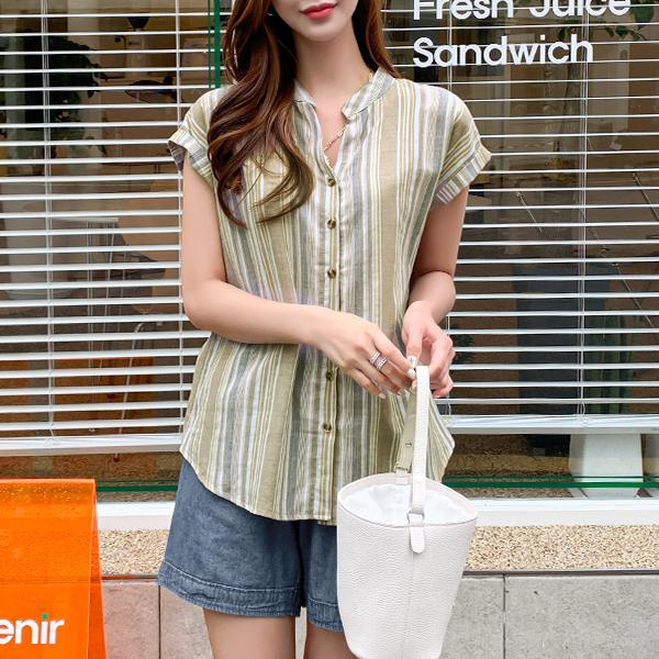canmart-[라이트줄지셔츠 C062527]♡韓國女裝上衣
