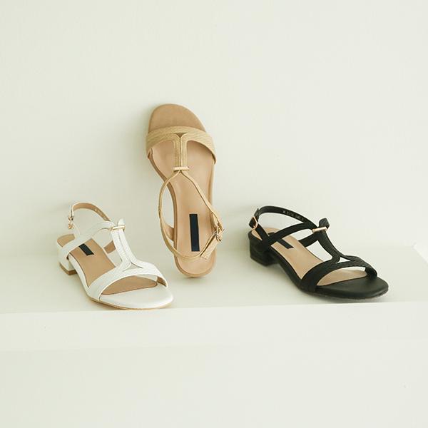 canmart-[T라인금장샌들 C062506]♡韓國女裝鞋