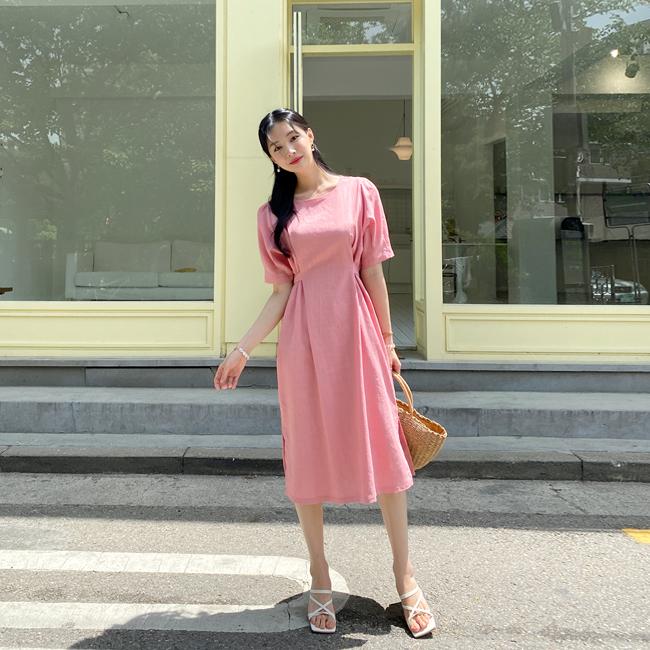 cherryville-[포에버영 린넨원피스]♡韓國女裝連身裙