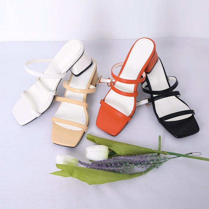 lemite-트리플 샌들힐♡韓國女裝鞋