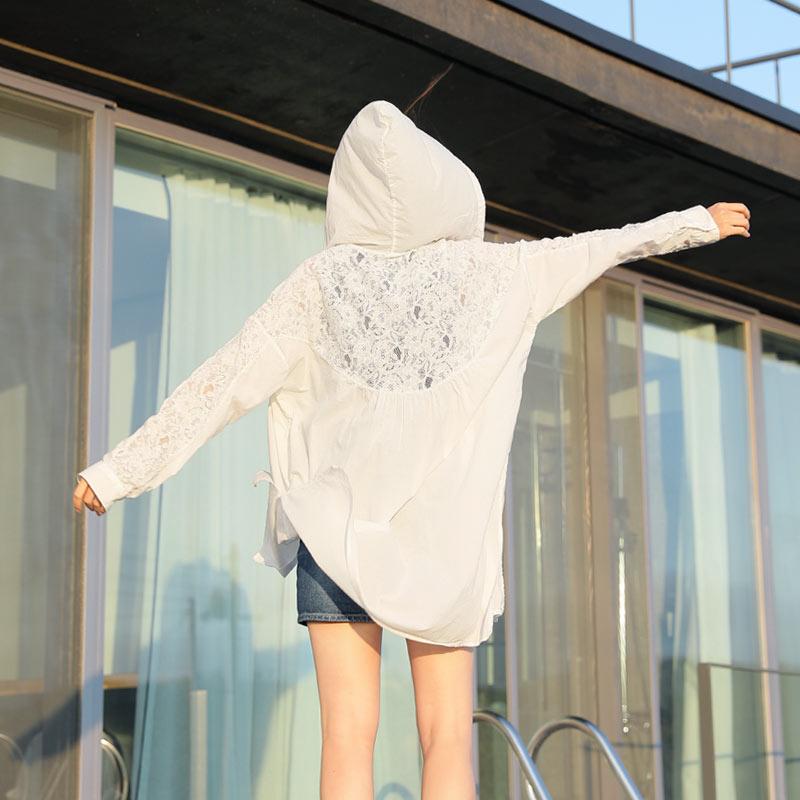 clicknfunny-[썬레이스 후드점퍼]♡韓國女裝外套