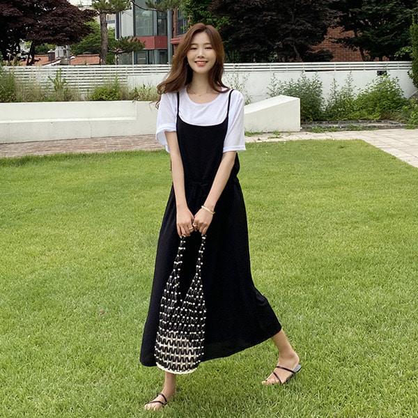 shehj-셋뚜 셋뚜~ 티셔츠&원피스 세트♡韓國女裝套裝