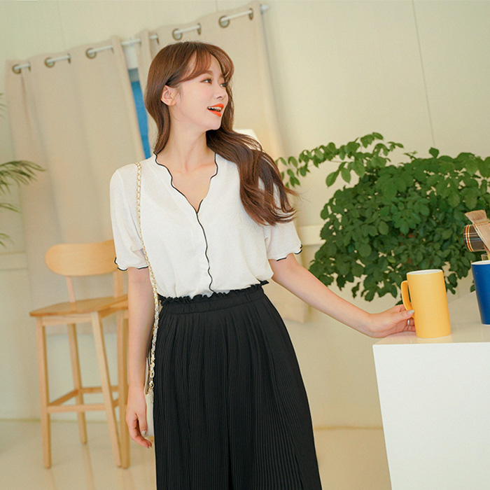 09women-[호니니 니트 반팔 가디건 티셔츠 49876]♡韓國女裝外套